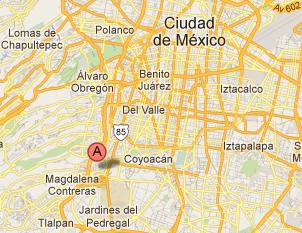 ubicación veXindad alpiNa11 méxico df